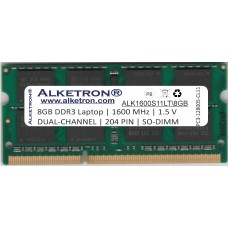 Alketron® DDR3 RAM for Laptop - 8GB 1600MHz SODIMM - Dual Channel CL11