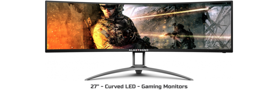 Curved LED