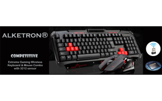 Gaming Keyboard-Mouse Combo